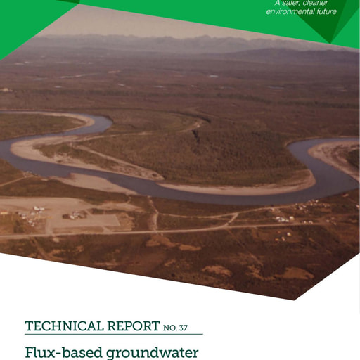 CRC CARE Technical Report 37: Guidance for Flux-based Criteria for Management of Groundwater Contamination