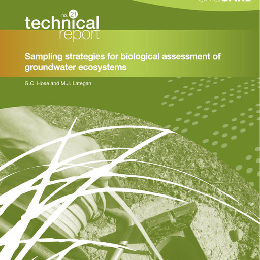 CRC CARE Technical Report 21: Sampling strategies for biological assessment of groundwater ecosystems