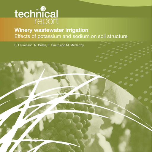 CRC CARE Technical Report 19: Winery wastewater irrigation - effects of potassium and sodium on soil structure