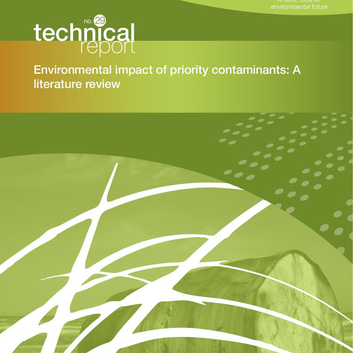 CRC CARE Technical Report 29: Environmental impact of priority contaminants: A literature review