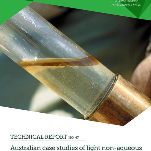 CRC CARE Technical Report 47: Australian case studies of LNAPL NSZD rates